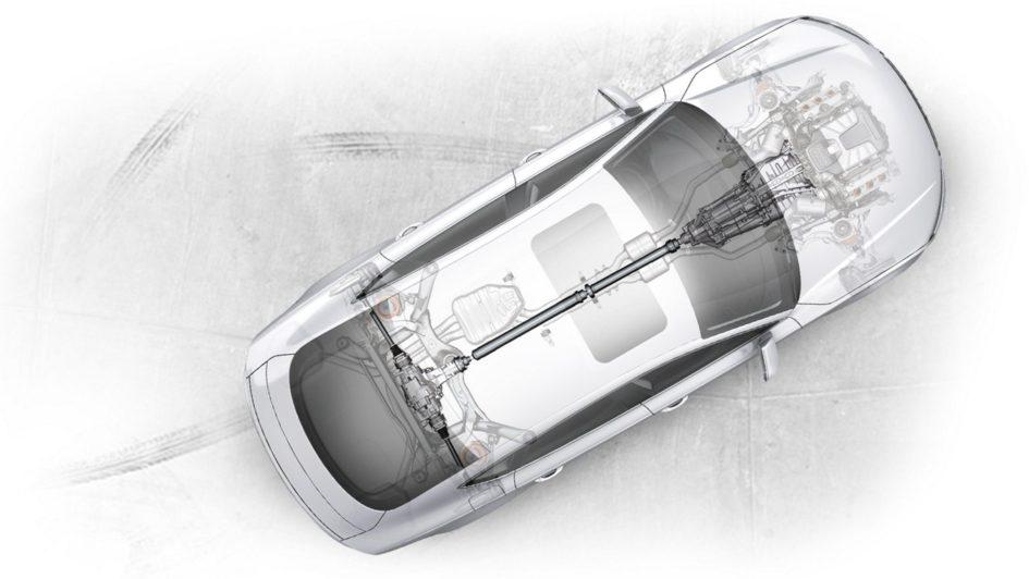 Audi quattro all wheel drive