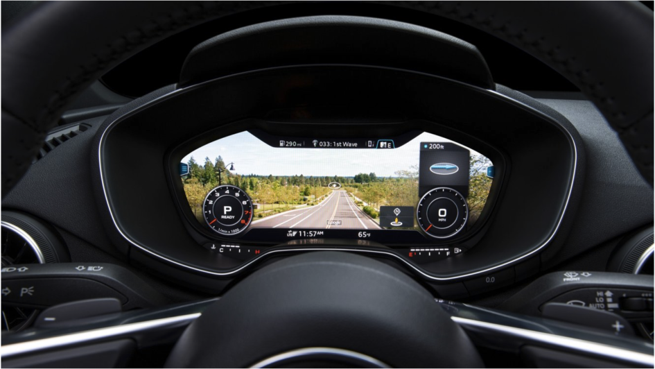 The Future Of The Instrument Cluster Audis New Virtual Cockpit - What is audi