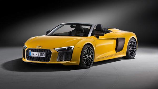 Yellow 2017 Audi R8