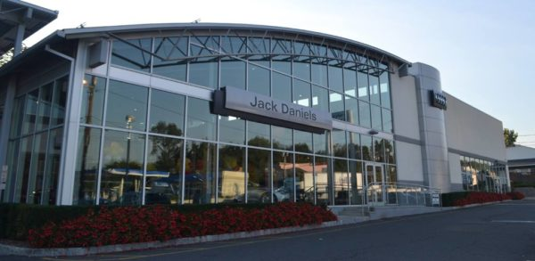 The outside of Jack Daniels Audi of Upper Saddle River's dealership