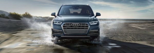 The 2018 Audi Q5 featured in a blog post about Audi quattro® all-wheel drive