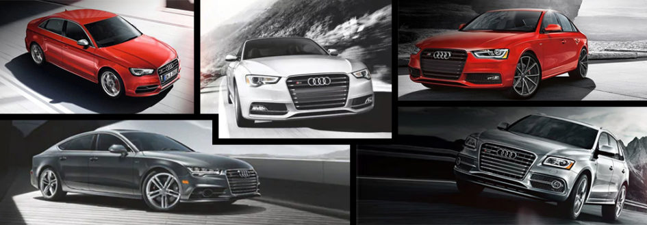 Audi S Models lineup from 2016 2017 model years